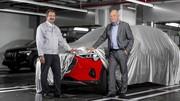 Audi e-tron quattro : le premier exemplaire est sorti !