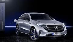 Mercedes-Benz EQC 400 : les photos et infos sur le SUV électrique !
