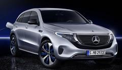 Mercedes EQC : révélation du premier SUV électrique de la marque