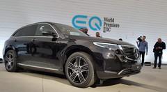 Mercedes EQC: première étoile électrique