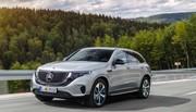 Mercedes EQC : le SUV électrique arrive en 2019