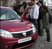 Dacia Sandero : la star 2008, c'est elle !