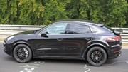 Le Porsche Cayenne Coupé se montre