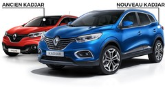 Renault Kadjar restylé (2018) : quels changements par rapport à l'ancien ?