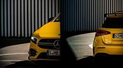 Premier teaser pour la Mercedes A 35 AMG