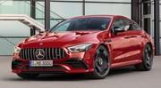 AMG GT Coupé 4 portes : les GT 43 et GT 53 arrivent