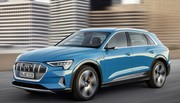 Le SUV électrique Audi e-tron ôte son camouflage