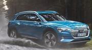Audi e-tron quattro : 400 chevaux, 30 minutes de recharge, 80 000 euros