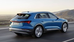 Audi e-tron : anneaux électrifiés