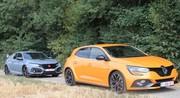 Essai Honda Civic Type R vs Renault Mégane RS : combat de références !
