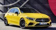 Mercedes A35 AMG : la vie en jaune