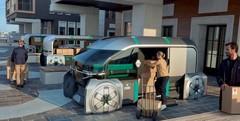 Renault EZ-PRO : la vision du véhicule utilitaire «dernier kilomètre»