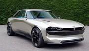 Peugeot e-Legend concept: digne descendant de la 504 Coupé