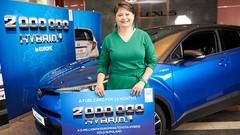 Déjà deux millions de voitures Toyota hybrides en Europe