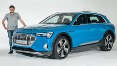 Audi e-tron : L'Argus à bord du SUV 100% électrique