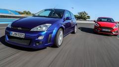 Essai Ford Focus RS Mk1 (2002) : l'icône rencontre la nouvelle Fiesta ST