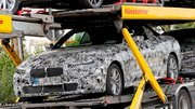 La future BMW Série 4 cabriolet avec une capote en toile