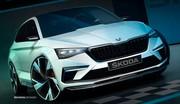Skoda Vision RS : la sportive hybride de 245 ch