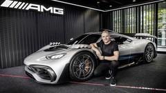 Mercedes-AMG ONE : le nom dévoilé, mais l'auto absente du Mondial