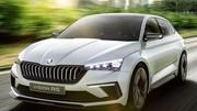Skoda Vision RS : le tchèque veut sa Golf hybride rechargeable
