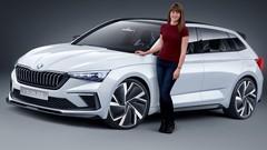 Le concept Skoda Vision RS dévoilé au Mondial Auto