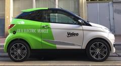 Au volant de la citadine électrique low-cost de Valeo