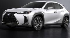 Le Lexus UX dévoile ses tarifs au salon de l'auto