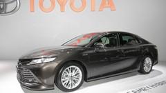 Toyota Camry : première européenne de la familiale de Toyota