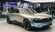 Présentation du concept Peugeot e-Legend