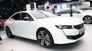 Peugeot 508 Hybrid : la berline et le break déjà sur le stand !