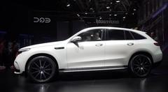 Le Mercedes EQC électrique fait son premier salon au Mondial de l'Auto