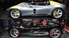 Ferrari Monza SP1 et SP2 : deux chevaux cabrés au Mondial Auto 2018