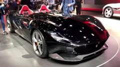 Présentation des Ferrari Monza SP1 et Ferrari Monza SP2