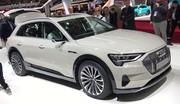 Présentation de l'Audi e-tron, un SUV 100 % électrique