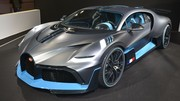 Bugatti Divo : apparition surprise au Mondial de l'auto