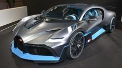 Bugatti Divo : apparition surprise au Mondial de l'auto