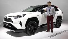 Toyota RAV4 Hybrid : première européenne à Paris du nouveau RAV4