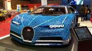 Présentation de la Bugatti Chiron entièrement construite en LEGO