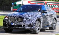 Le BMW X6 se dévoile de bonne heure