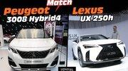 Peugeot 3008 Hybrid4 vs Lexus UX 250h : déjà le match au Mondial !
