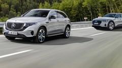 Mercedes EQC vs Audi e-tron : le choc du Mondial Auto 2018