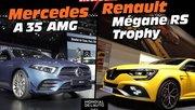 Mercedes Classe A 35 AMG vs Renault Mégane RS Trophy