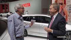"""Didier Leroy, vice-PDG de Toyota: """"nous serons prêts à temps pour l'électrique"""""""