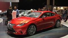 Lexus RC restylée : légères retouches