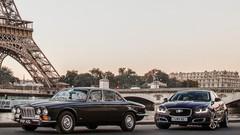 La Jaguar XJ fête ses 50 ans au gazole