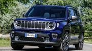 Jeep Renegade : la version plug-in hybride arrivera en 2020