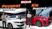 Kia Proceed vs Peugeot 508 SW : le match en images légendées