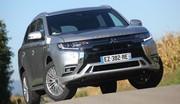 Mitsubishi Outlander PHEV 2019 : encore des progrès