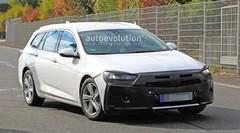 Repoudrage en préparation pour l'Opel Insignia