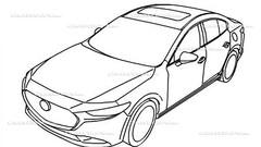 Nouvelle Mazda 3: première idée du design définitif